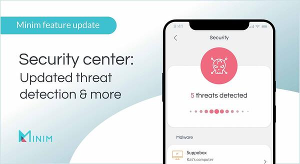 Security center: Updated threat detection and more