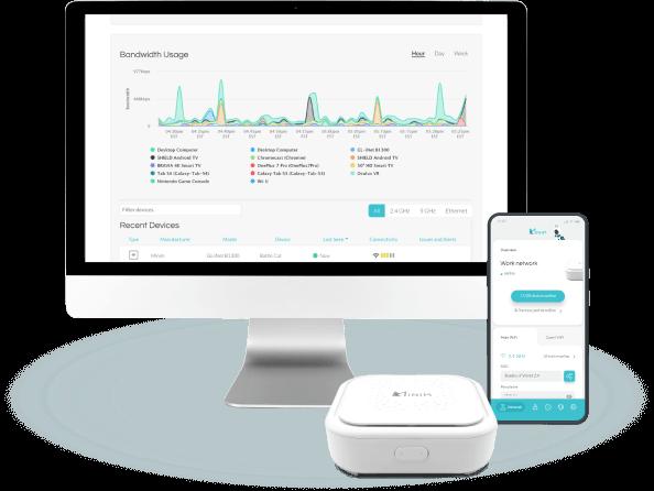 Minim Care Portal, Minim Mobile App, and Minim router