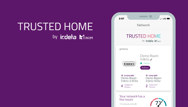Trusted Home, by Irdeto and Minim