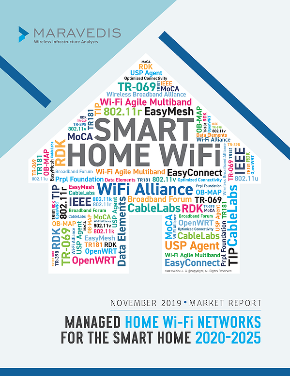 2019 Market Report: Managed Home Wi-Fi Networks for the Smart Home 2020-2025