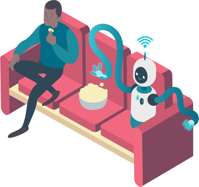 Minim IoT security on the couch