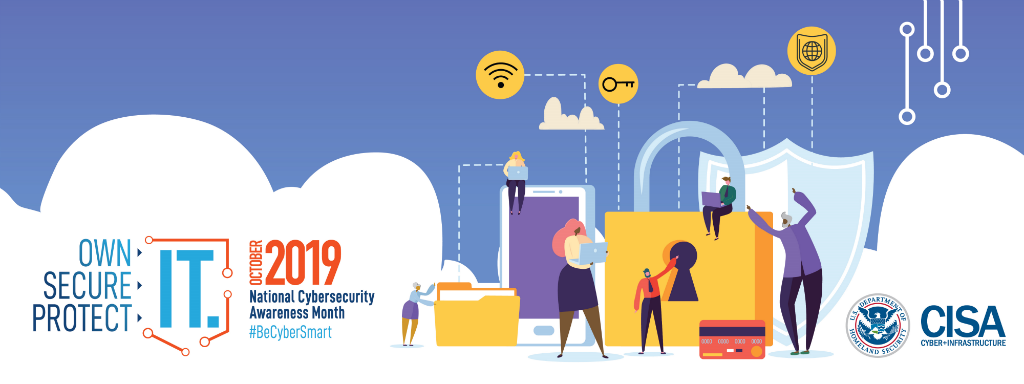 National Cybersecurity Awareness Month 2019