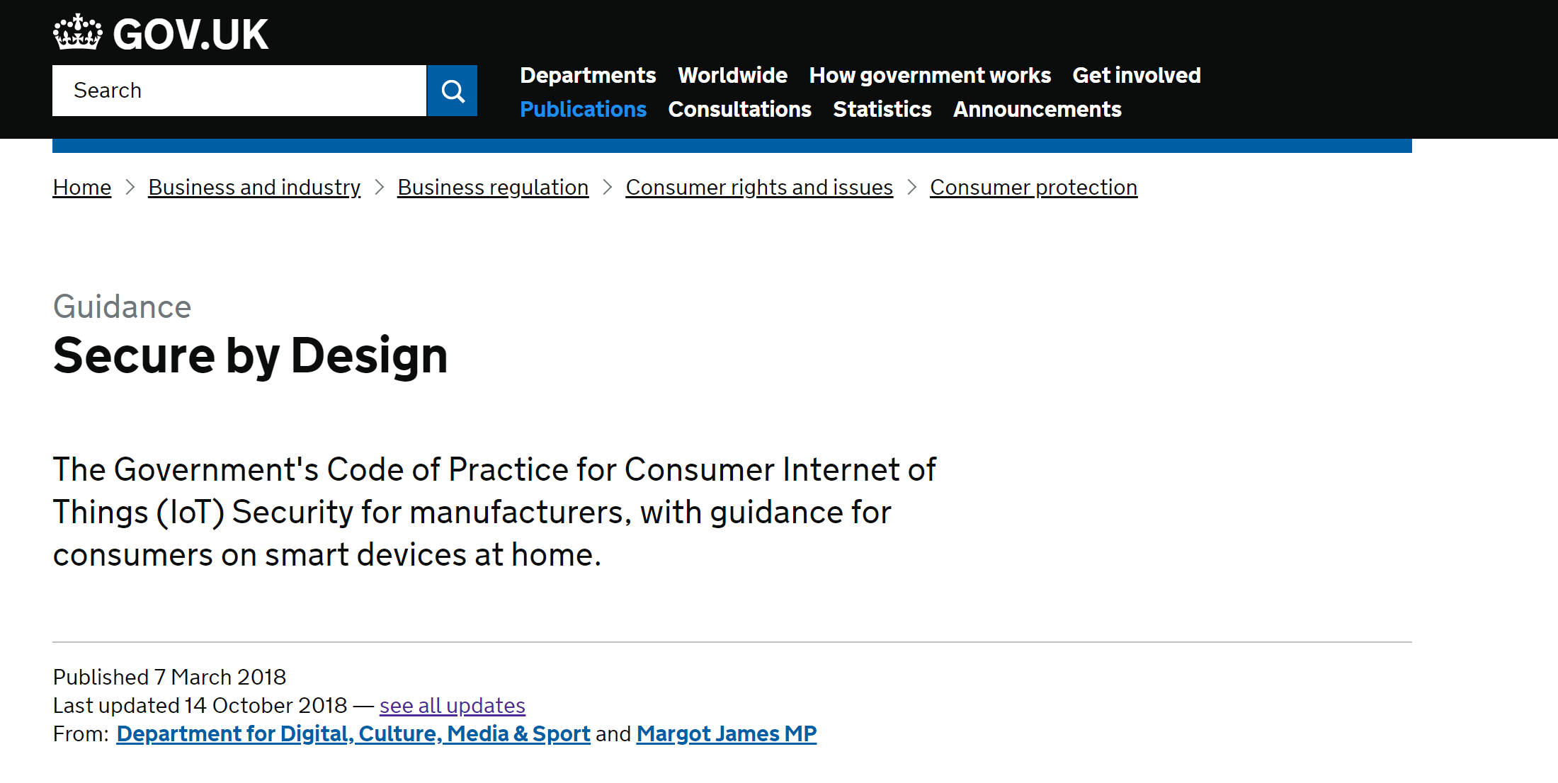 screenshot-gov.uk-website