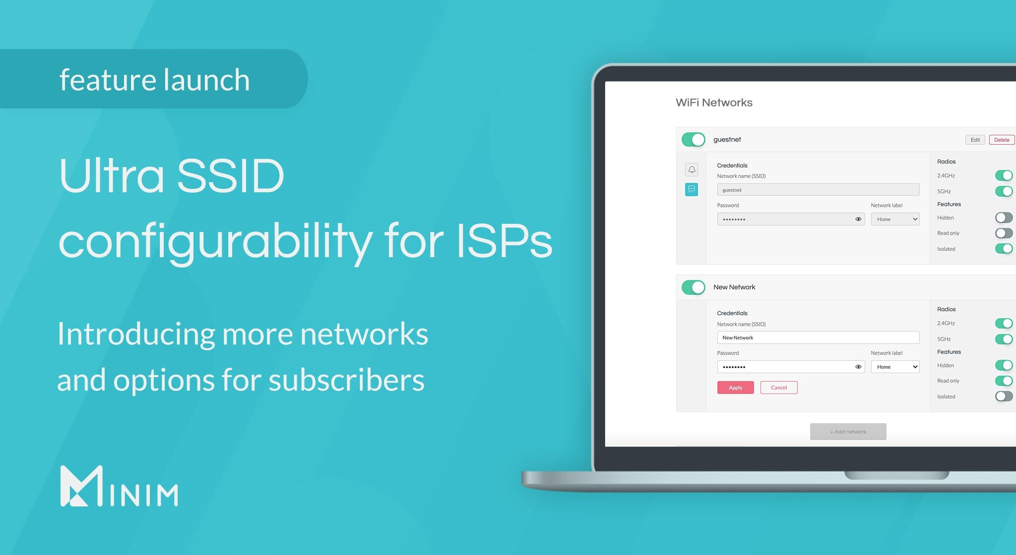 Introducing Ultra SSID configurability for ISPs