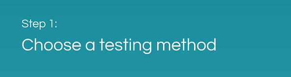CAF Performance Testing: Choose a Testing Method