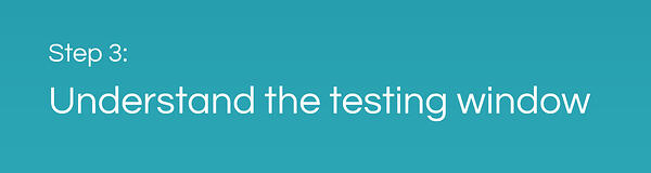 CAF Performance Testing: Understand the Testing Window