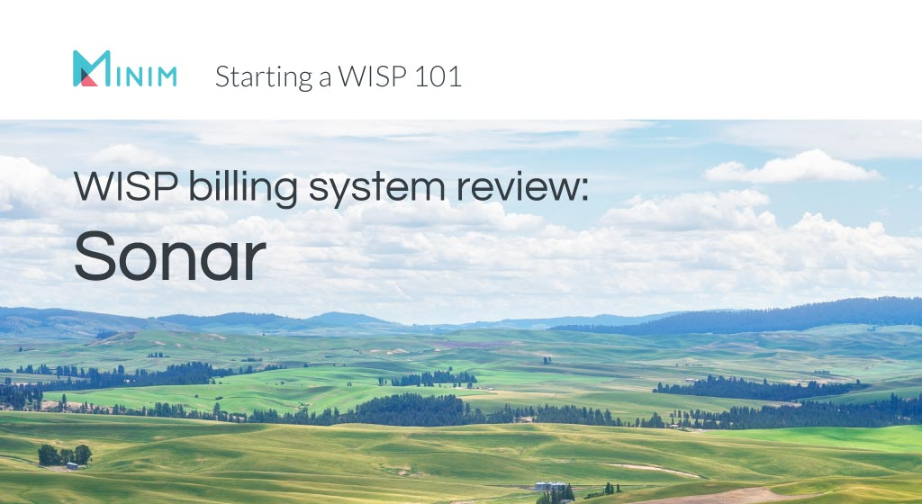 WISP billing system review about Sonar