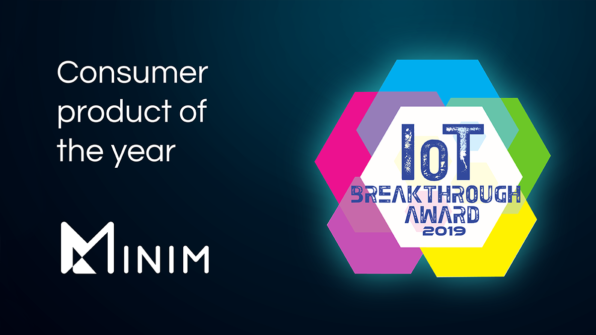 minim_wins_IoT_breakthrough_award_2019