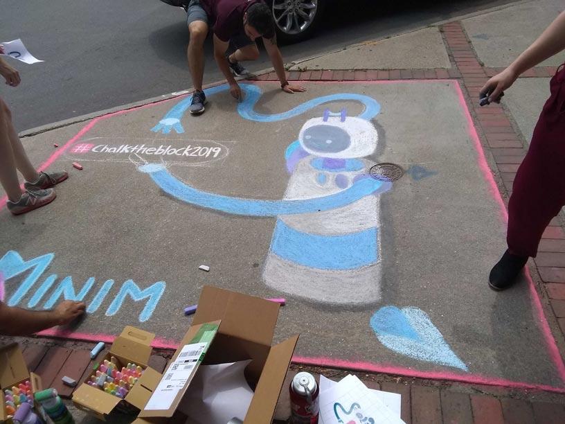 Chalk the block: Minim