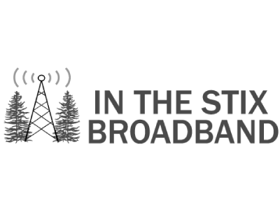 In the Stix Broadband logo